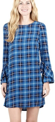 M&Co Izabel checked shift dress