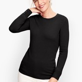 Talbots Cashmere Button Cuff Sweater