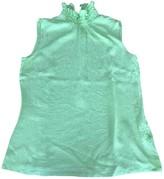 Escada Green Silk Top for Women
