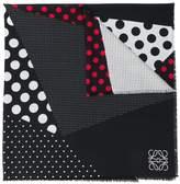 Loewe polka dot print scarf