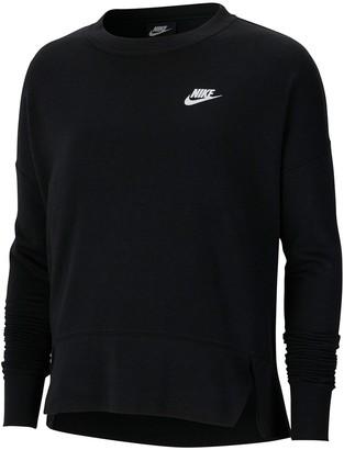 Nike Sportswear Crew Club Long Sleeve Pullover (Plus Size)
