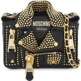 Moschino Biker jacket leather bag