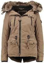 Khujo DYANI Winter jacket lizzard green