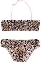 Elizabeth Hurley Beach Kids leopard print bikini