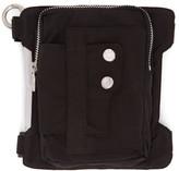 C2H4 Black Neonaissance Laminate Arm Bag