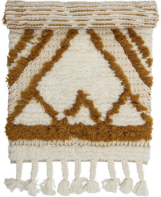 Bloomingville Abstract Wool Rug - Multi