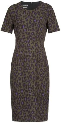 Boutique Moschino Animalier Dress