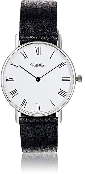 Ole Mathiesen Men's Round-Faced Watch