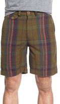 Vintage 1946 Madras Plaid Shorts