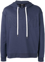 No.21 logo hoodie - men - Cotton/Polyamide - S