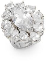 Marquis White Stone Ring