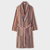 Paul Smith Men's Signature Striped Towelling Dressing Gown