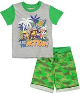 "Paw Patrol Little Boys' ""Ready for Action"" 2-Piece"