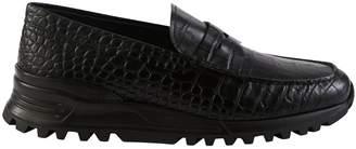 Tod's x Alber Elbaz crocodile print loafer