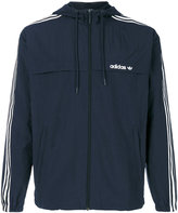 adidas three stripe windbreaker jacket - men - Polyester - S