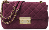 MICHAEL Michael Kors Large Sloan Suede & Chain Shoulder Bag