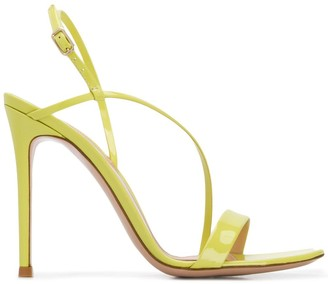 Gianvito Rossi patent strappy sandals