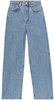 Arket LOOSE Barrel Leg Jeans