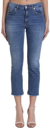 Mauro Grifoni Jeans In Blue Denim