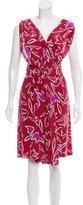 Nina Ricci Printed Silk Dress