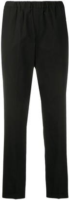 Alberto Biani Cropped Slim Trousers