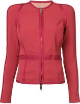 DSQUARED2 panelled zip jacket