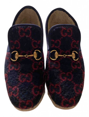 Gucci Multicolour Faux fur Flats