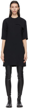 Victoria Victoria Beckham Black Crepe Short Dress