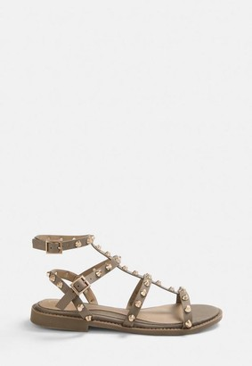 Missguided Studded Gladiator Sandals