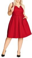 City Chic Big Bow Dress