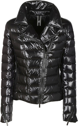 Hogan Slash Zip Panel Padded Jacket