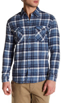 Quiksilver Long Sleeve Plaid Modern Fit Shirt