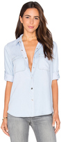 7 For All Mankind Denim Button Up