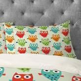 Deny Designs Andi Bird Owl Fun Pillowcase