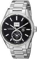 Tag Heuer Men's WAR5010.BA0723 Analog Display Automatic Self Wind Silver Watch