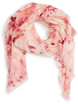 Nordstrom Women's Graceful Hanami Cashmere & Silk Scarf