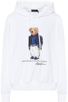 Polo Ralph Lauren Printed cotton-blend hoodie