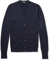 John Smedley Bryn Fine-Knit Merino Wool Cardigan