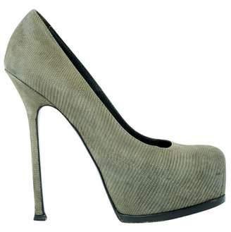 Saint Laurent \N Grey Other High Heel