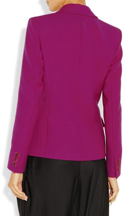 Emilio Pucci Wool and silk-blend blazer