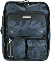 Diesel camouflage backpack