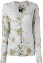 Suzusan - cashmere tie dye cardigan - women - Cashmere - M