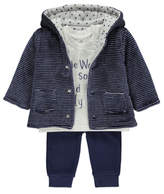 George 3 Piece Reversible Jacket, Top and Trousers Set