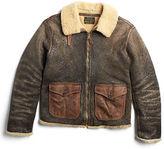 Ralph Lauren Shearling Flight Jacket