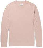 Steven Alan Slim-Fit Cotton and Cashmere-Blend Sweater