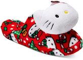 Hello Kitty Holiday Plush Head Slippers