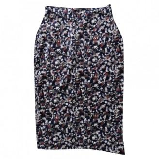 Vivienne Westwood Blue Velvet Skirt for Women Vintage