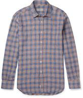 Canali - Checked Linen Shirt