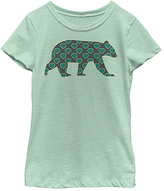 Fifth Sun Mint Bear Crewneck Tee - Girls