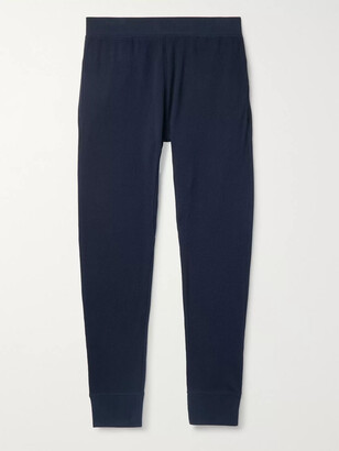 HANDVAERK Waffle-Knit Pima Cotton-Jersey Pyjama Trousers